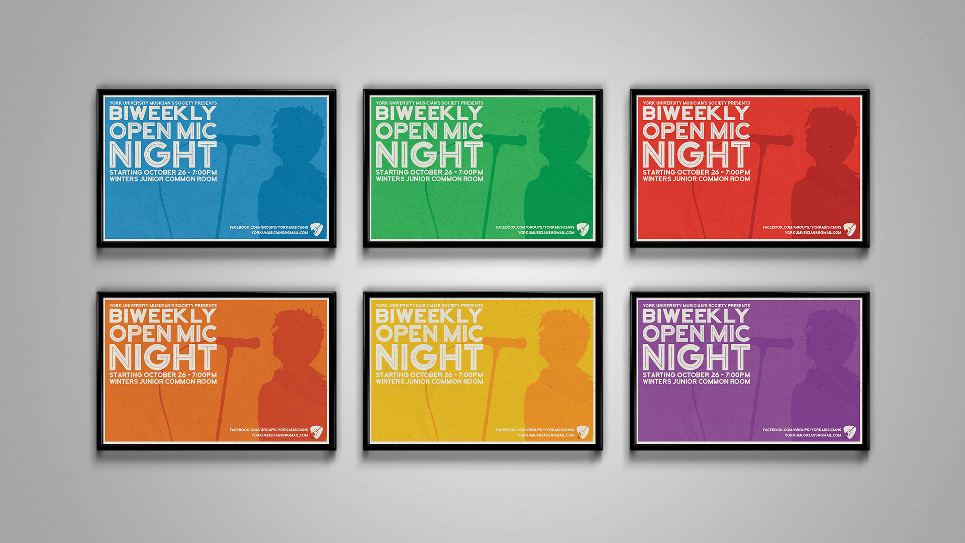 Open Mic Posters