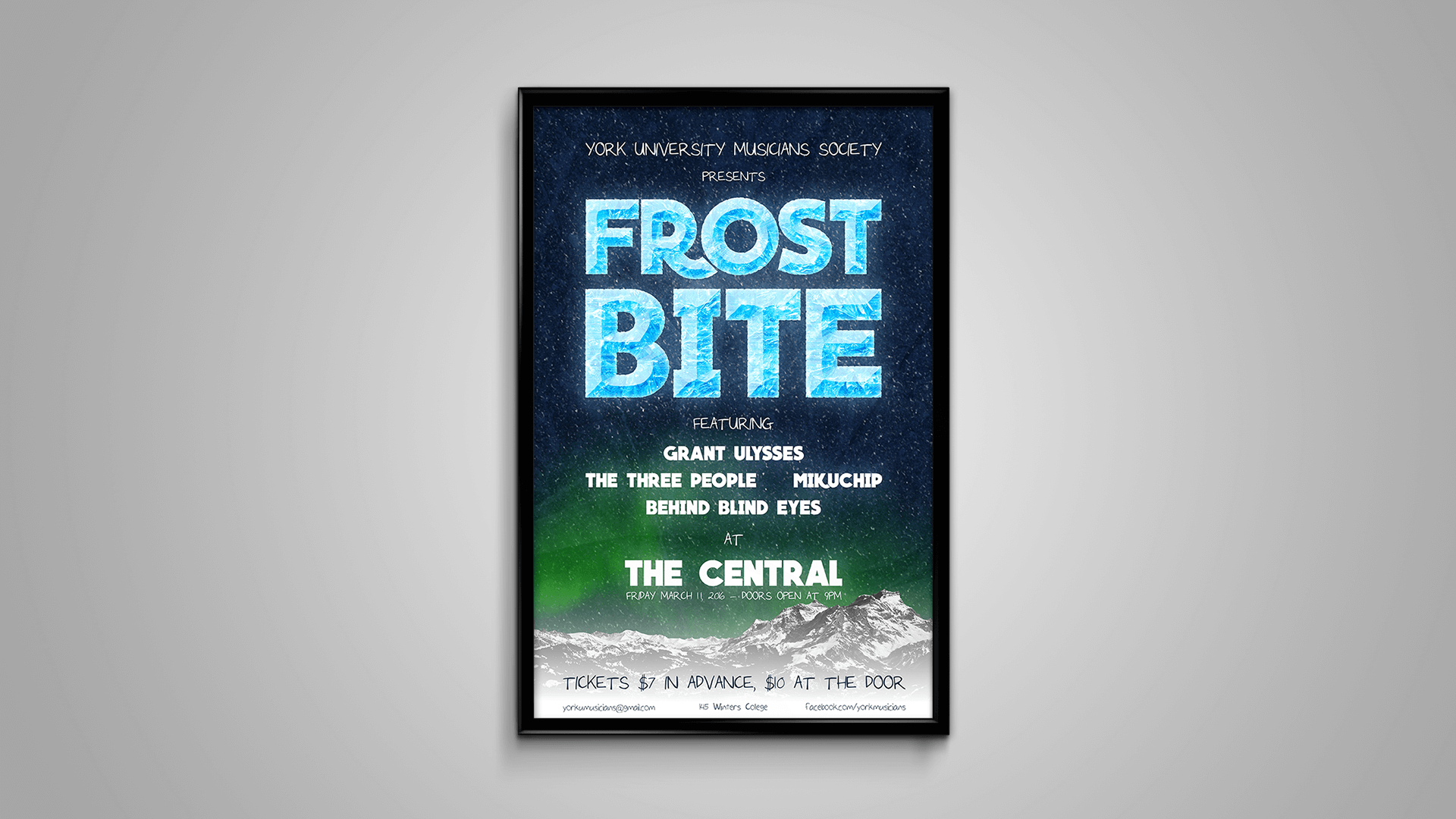 Frost Bite Poster
